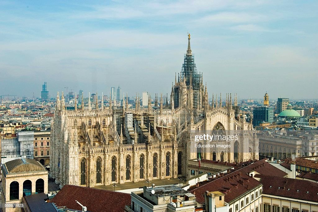 Landscape From Terrazza Martini. Milan Pictures | Getty Images