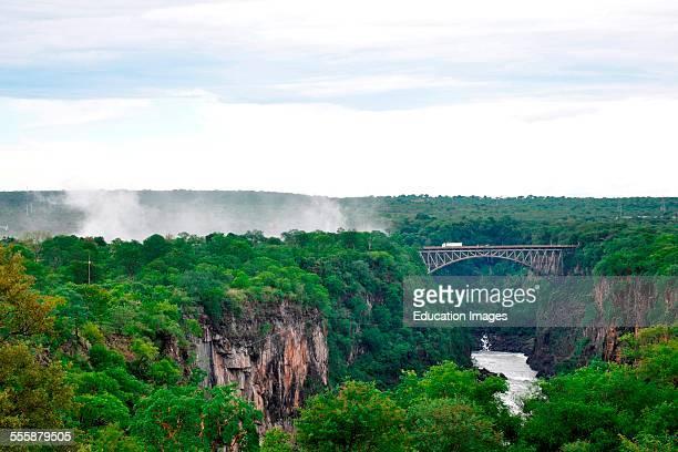 Landscape From Victoria Falls Hotel Victoria Falls Zimbabwe
