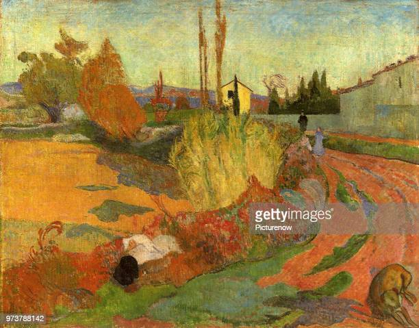 Landscape in Arles Gauguin Paul 1888