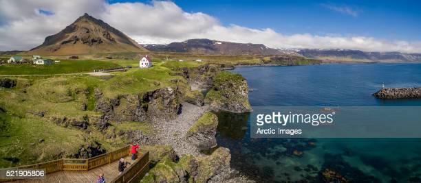 Landscape in Arnarstapi, Snæfellsnes Peninsula, Iceland