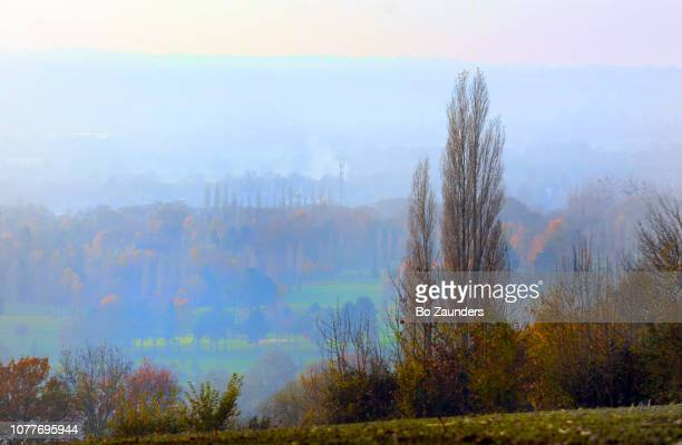 landscape in Carrefour Rouge, Normandy, France