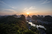 Landscape in guilin china