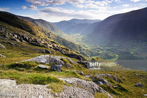 landscape in ireland - northern ireland stock photos and pictures