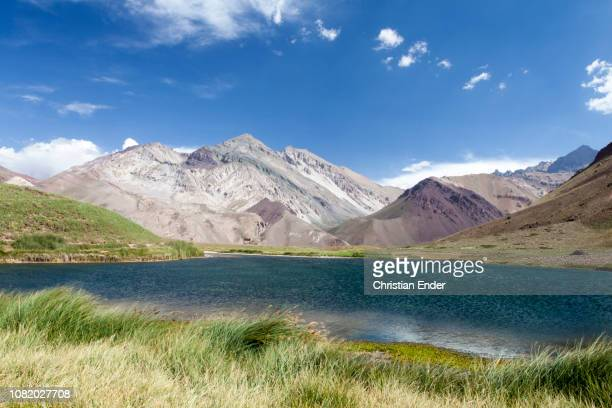Landscape in the Andes mountain range in Argentina