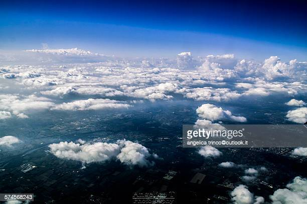 Landscape in the clouds