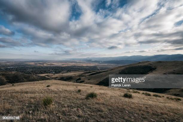 landscape in the foothills of the rocky mountains - foothills stock pictures, royalty-free photos & images
