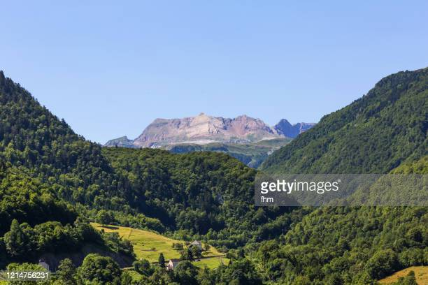 landscape in the french pyrenees - ピレネーアトランティーク ストックフォトと画像