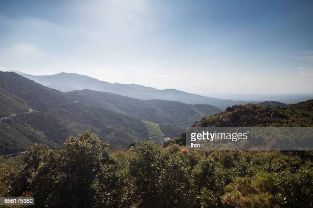 Landscape in the french Pyrenees