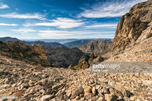 landscape in the indian peaks wilderness, colorado - clima alpino foto e immagini stock