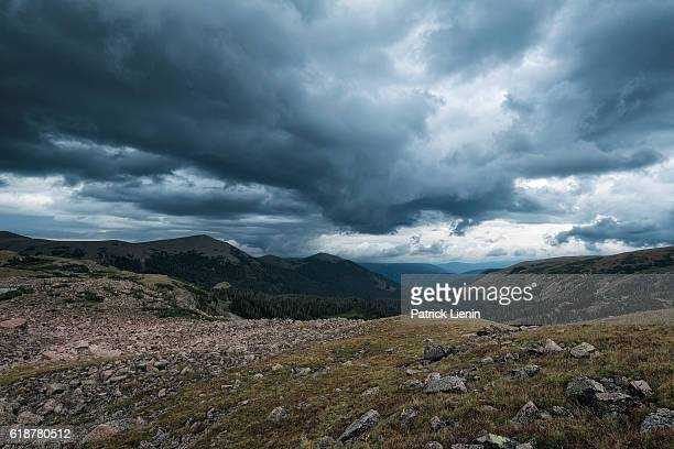 Landscape in the Rawah Wilderness, Colorado