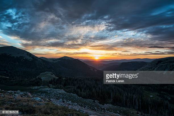 landscape in the rawah wilderness, colorado - fort collins stock pictures, royalty-free photos & images