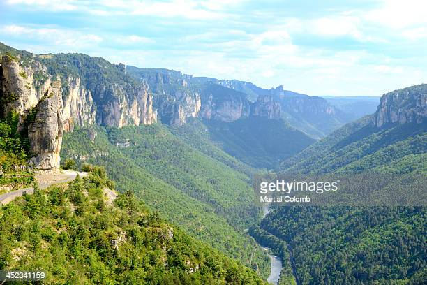 Landscape in the Tarn Gorges