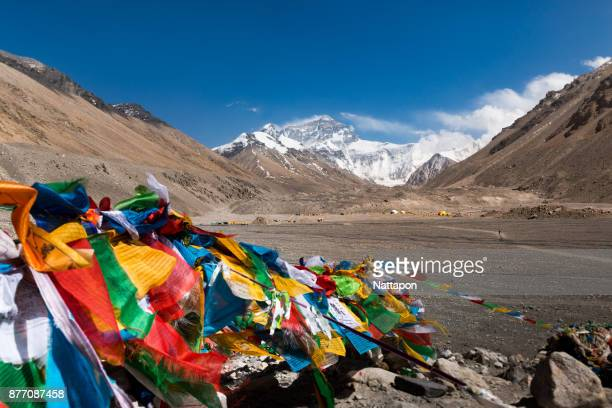 Landscape in Tibet, Mt.Everest China.