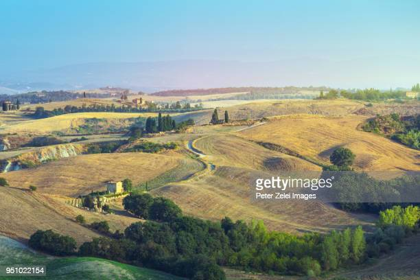 Landscape in Tuscany in the autumn