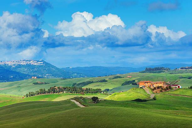 Landscape In Tuscany Wall Art