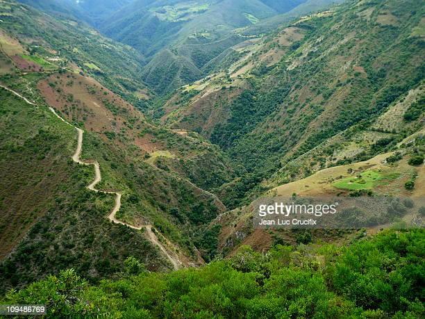 landscape in venezuelan andes - paisajes de venezuela fotografías e imágenes de stock