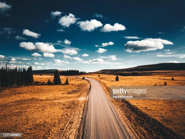 ワイオミング州の風景 - ワイオミング州 ストックフォトと画像