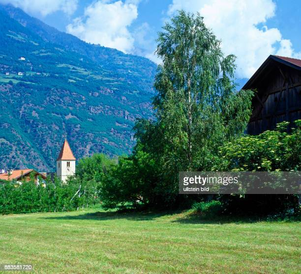 landscape Italy Europe South Tyrol Val Venosta Naturno Tabla