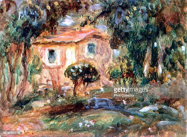 'Landscape le Cannet' 1902 Renoir visited the Cote d'Azur in 1902 where he painted his house at le Cannet near Cannes From the State Hermitage Museum...