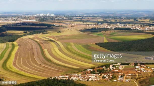 landscape near brasília - sem fim... valéria del cueto stock pictures, royalty-free photos & images
