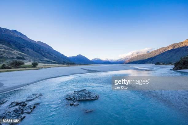 Landscape near Glenorchy, New Zealand