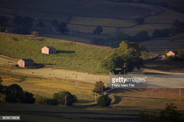 Landscape near Hebden, Wharfedale, Yorkshire Dales National Park, North Yorkshire, England