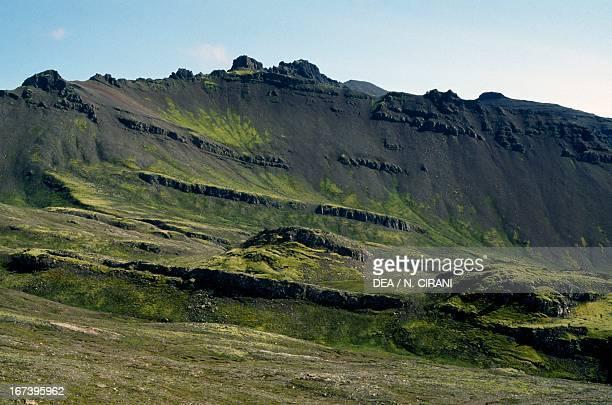 Landscape near Hofn, Iceland.