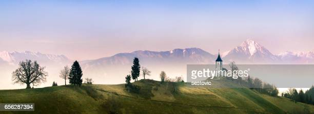 Landschaft in der Nähe von Jamnik