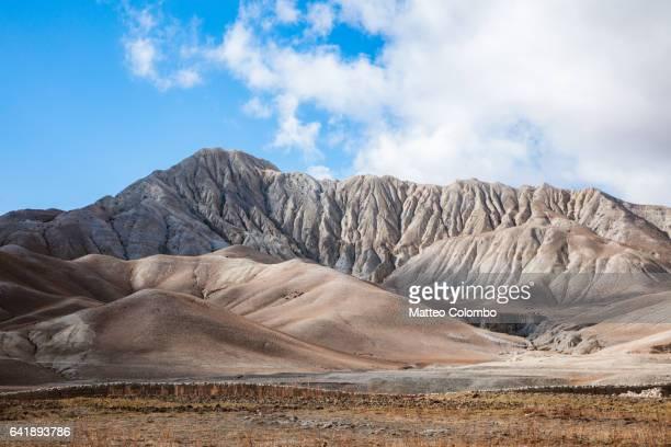Landscape near  Lo Manthang, Upper Mustang, Nepal