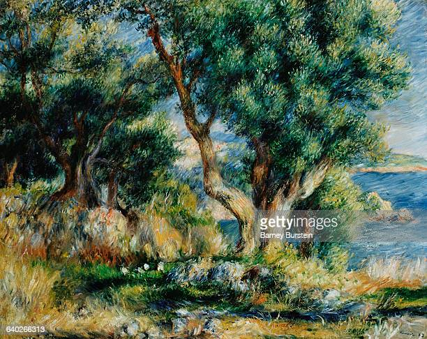 Landscape near Menton by PierreAuguste Renoir