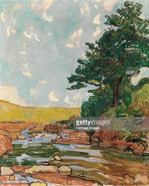 Landscape near Néris 1915 Found in the Collection of Stiftung für Kunst Kultur und Geschichte Winterthur