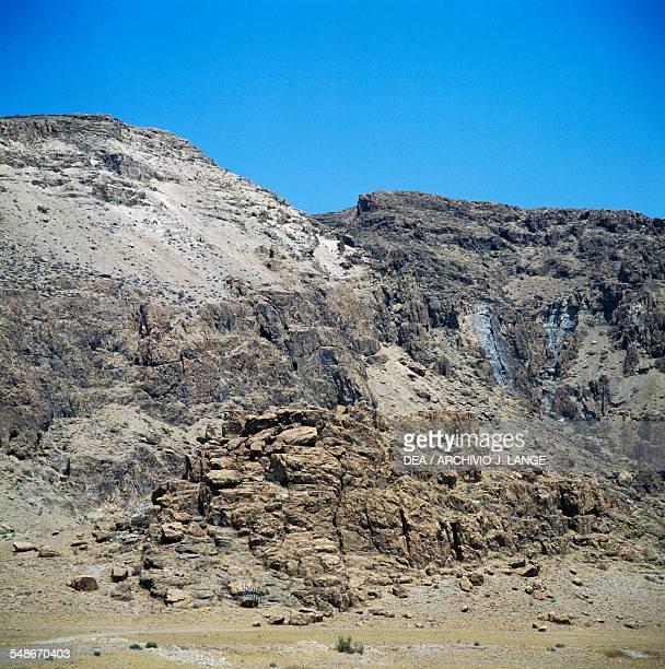 Landscape near Qumran Israel