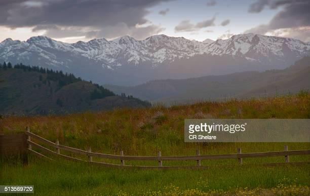 landscape near Seattle, Washington State, US,