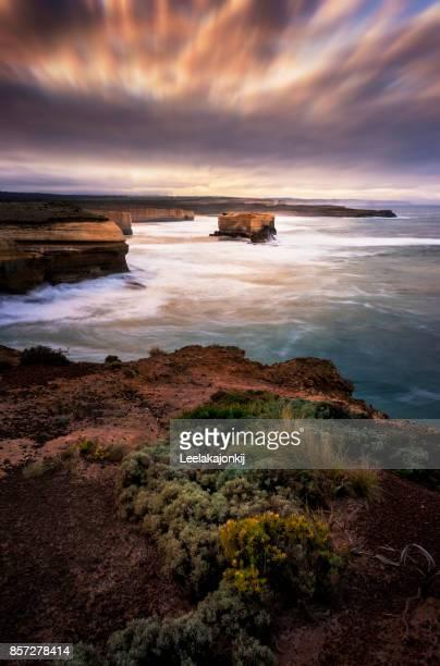 Landscape of 12 Apostles in great Ocean road