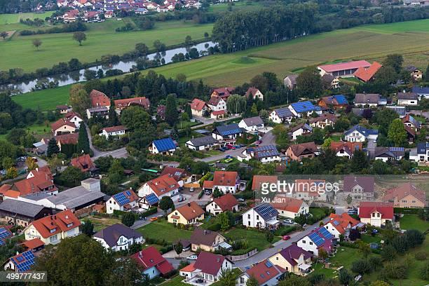 Landscape of Baden-Württemberg Germany