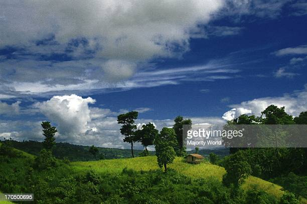 Landscape of Bandarban, one of the hill districts located in the South-eastern part of Bangladesh, about 80 kilometer from Chittagong. Beside...