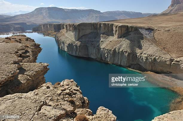 Paysage de groupe-e-Amir lakes, de l'Afghanistan