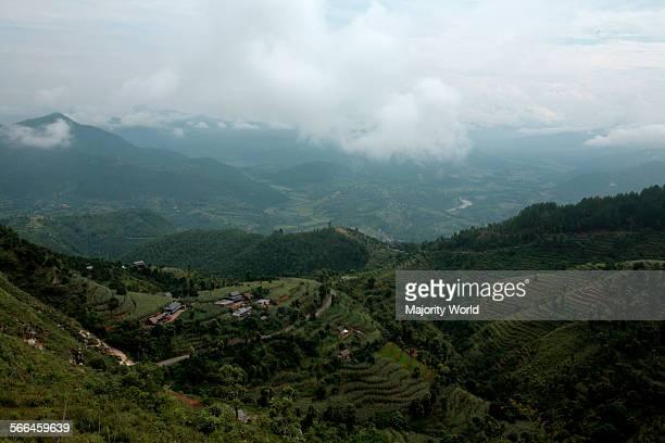 A landscape of Bandipur Tanahun Nepal 2010