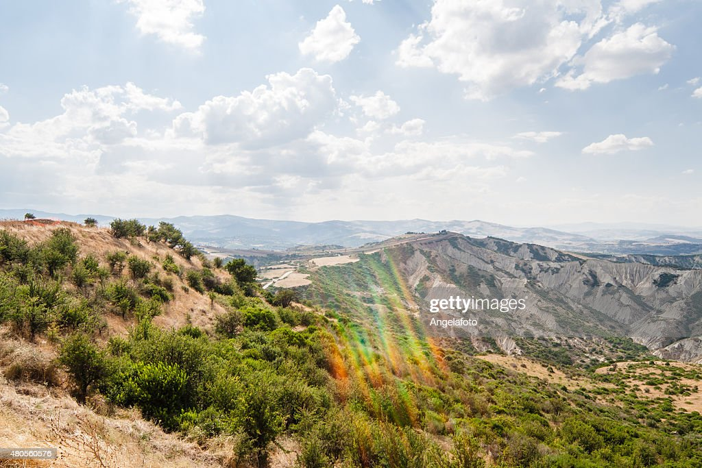 Landscape of Basilicata, Italy : Stock Photo