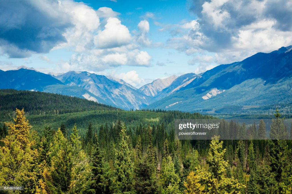 Landscape of British Columbia, Canada : Foto stock