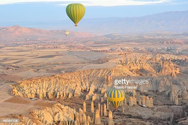 CONTENT] Landscape of Cappadocia from balloon