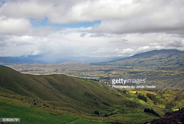Landscape of Central Ecuador