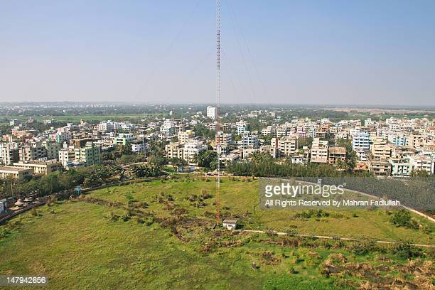 Landscape of Chittagong city