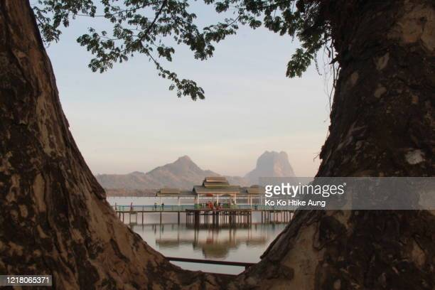 landscape of hpa anh - ko ko htike aung stock pictures, royalty-free photos & images