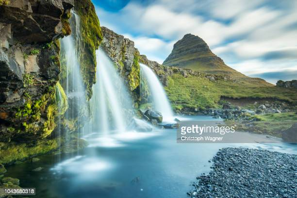 landscape of iceland - iceland stock pictures, royalty-free photos & images