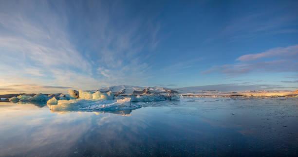 Landscape of Jokulsarlon, Iceland
