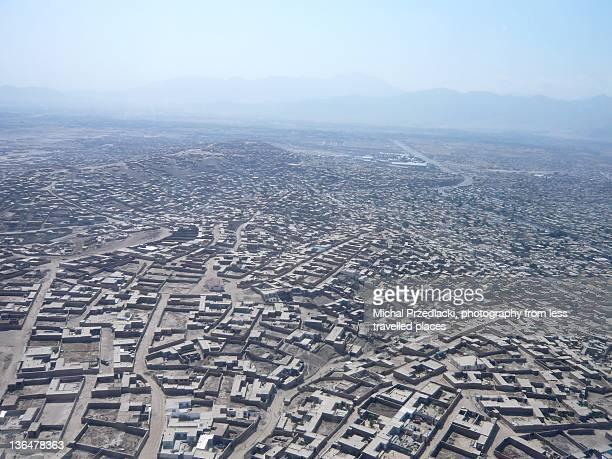 Landscape of Kabul, Afghanistan