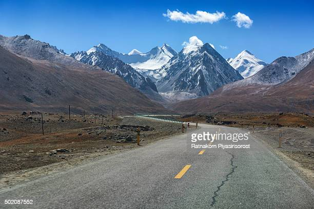 Landscape of Karakoram Highway