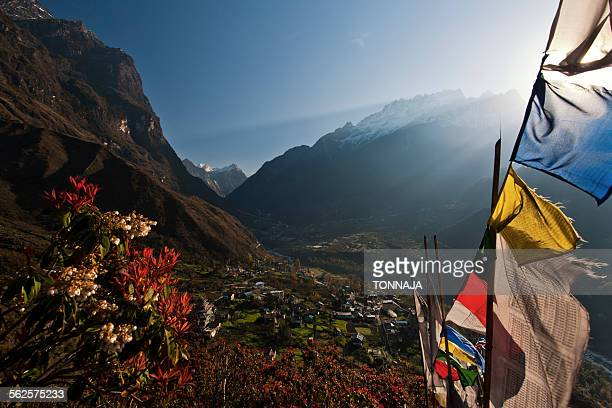 landscape of lachung area, north sikkim, india - www images com stock photos and pictures