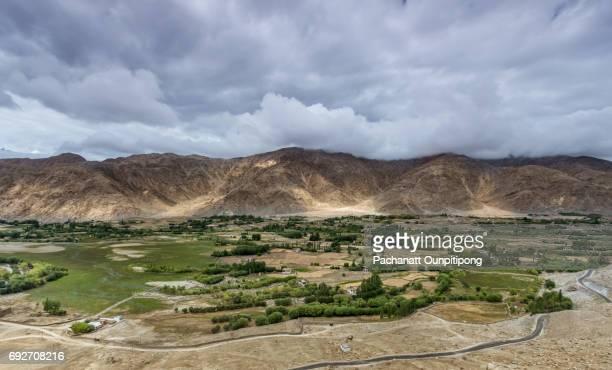 Landscape of Leh, Ladakh, India